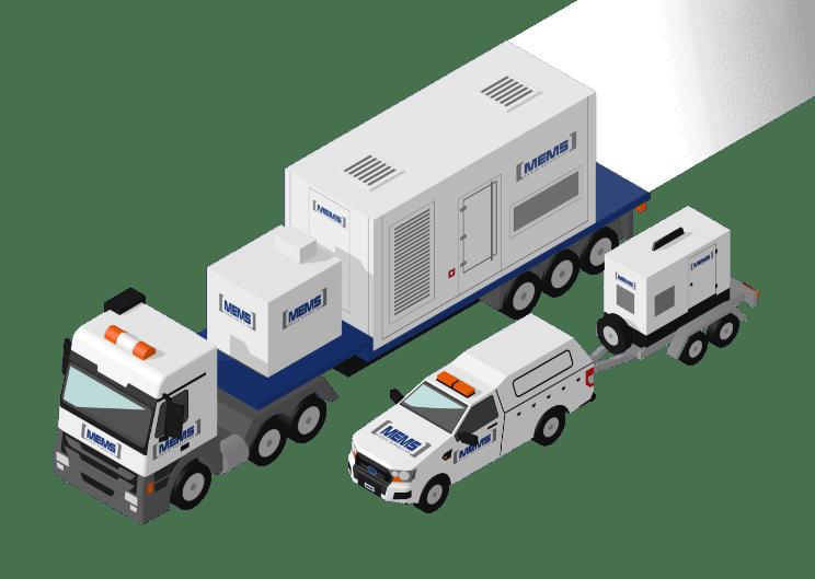 Emergency Generator Hire Company UK - MEMS Power Generation