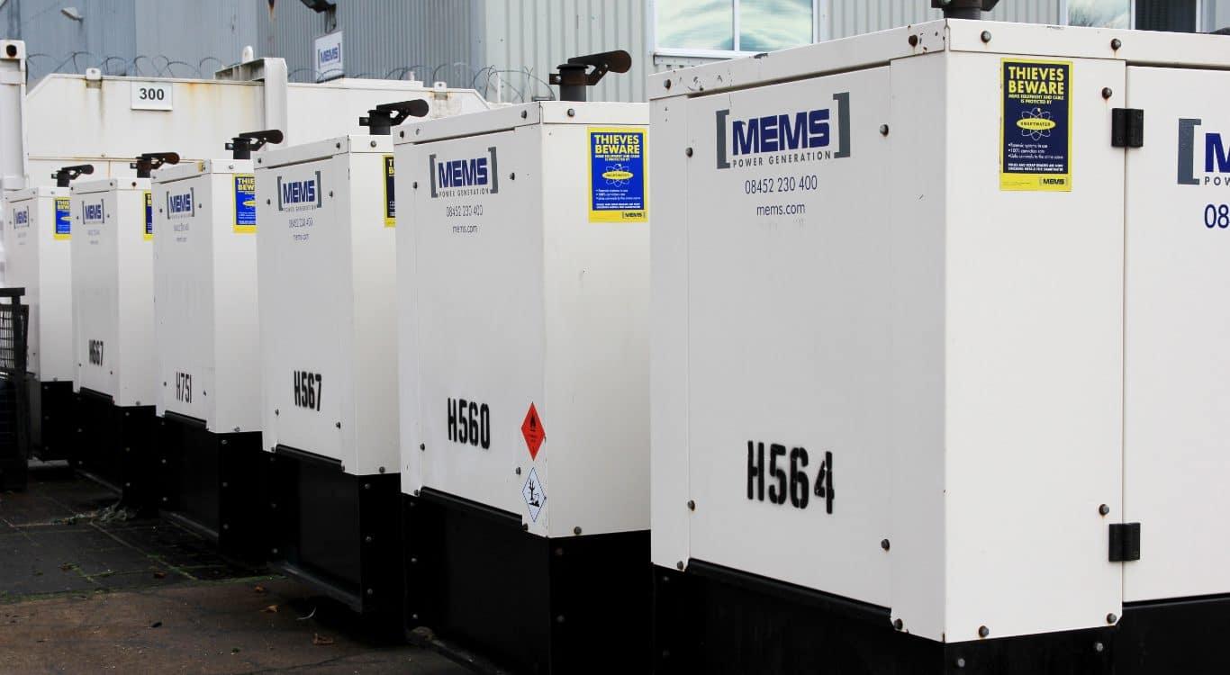 Generator Hire Services - Diesel Generator Rental - MEMS Power Generation
