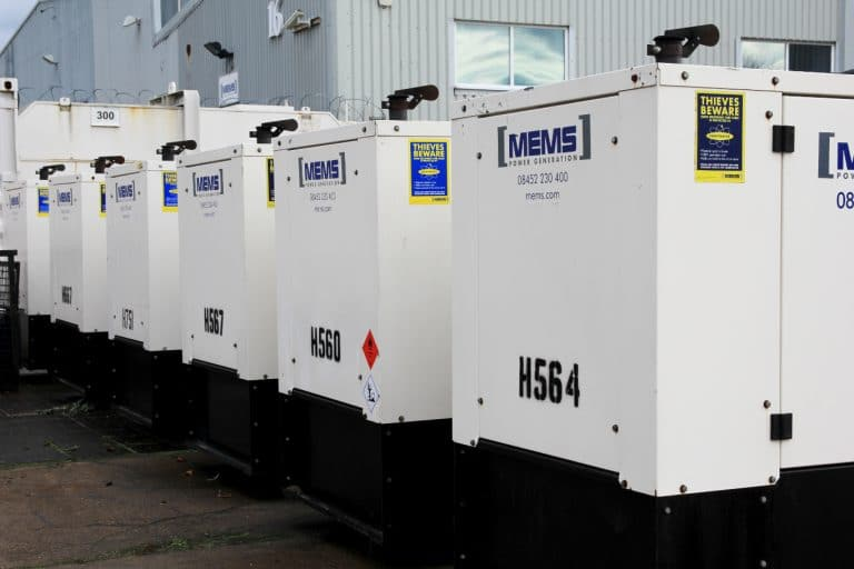 Generator Hire Services - Diesel Generator Rental - MEMS Power Generation