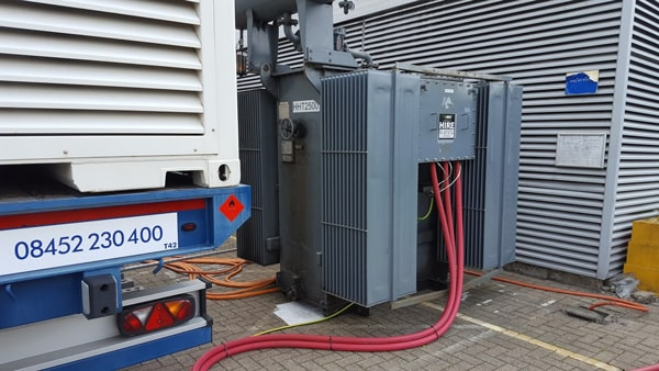 High Voltage Generator Hire and Installation - MEMS Power Generation