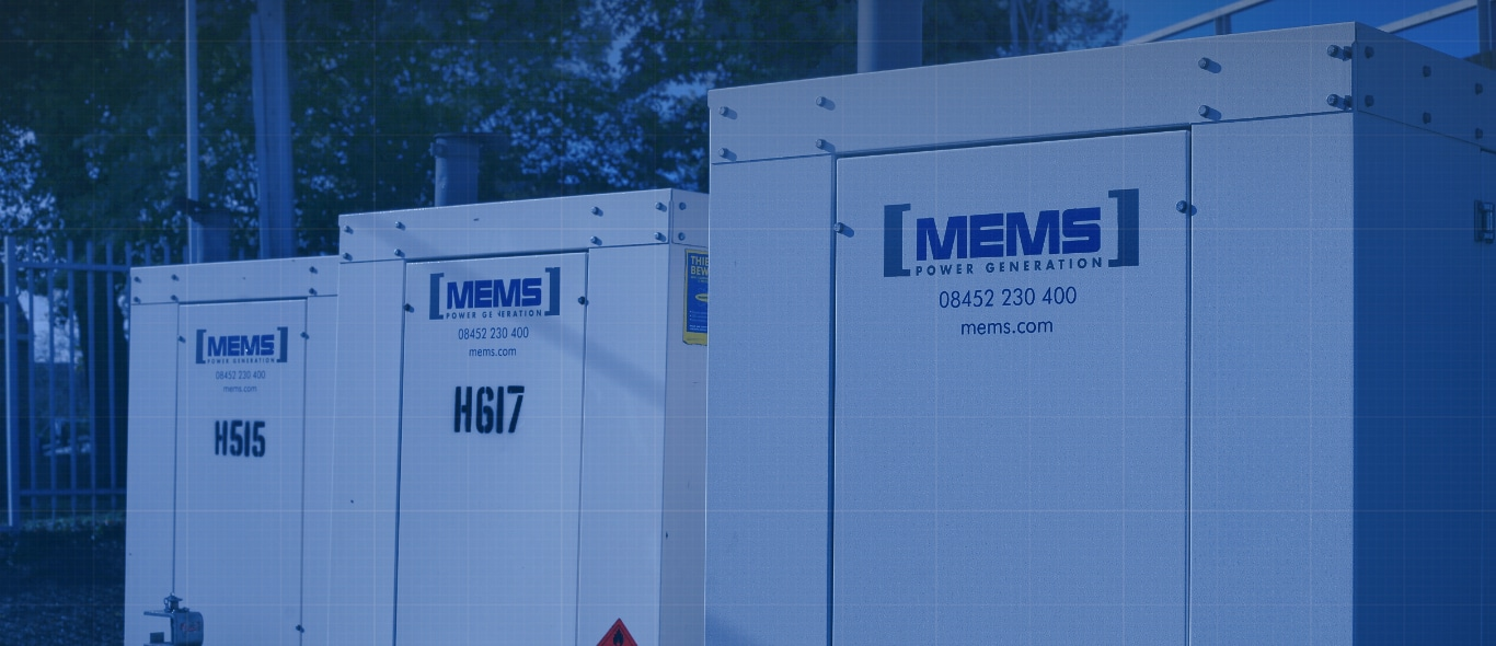 Our Generator Hire Fleet - Diesel Generator Rental Specialists - From 30kVA to 2000 Kva - MEMS