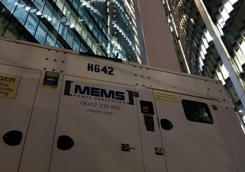 MEMS Power Generation – Leading UK Generator Hire Specialists